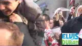 David Archuleta and David Cook piggy back ride