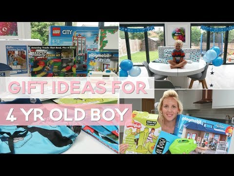 Best Toys / Gift Ideas for a 4 Year Old Boy
