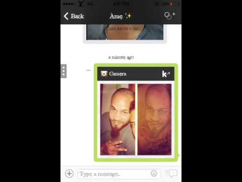 Kik Live Pic >> How To Send Gallery Pic As Camera Pic On Kik Iphone Ios7 Youtube