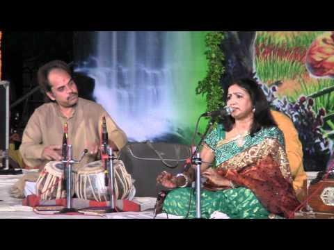 Saroj Verma sings Kajri in Mirzapur on August 28, 2010