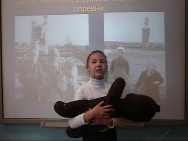 Изображение предпросмотра прочтения – АнастасияОрлова читает произведение «Девочка и мишка» Л.Тасси