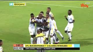 Bucaramanga vs Alianza Petrolera (1-2) | Copa Aguila | Fecha 1