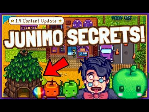 Stardew Valley 1.4 NEW Junimo Hidden Secrets!