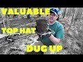VALUABLE FINDS: Metal Detecting 1800's TOP HAT (2019)