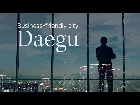 Daegu, a business-friendly city image