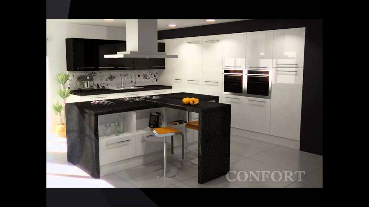 COCINAS INTEGRALES ESPACIO Y DECORACIÒN - YouTube