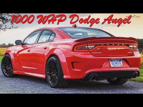 Dodge Charger Hellephant Angel is just STUPID