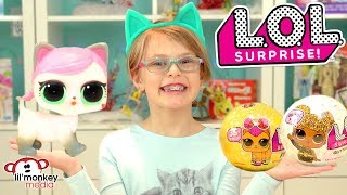 😂  LOL Surprise Dolls!  LOL Pets, Glitter & More! Tinkle, Spit, Cry or Color Change Pets & Dolls!