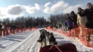 "Iditarod 2010: ""Aliy Cam"" Official Start"