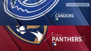 Vancouver Canucks vs Florida Panthers Oct 13, 2018 HIGHLIGHTS HD