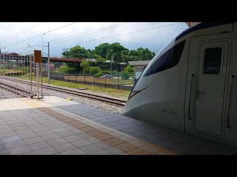 [Horn Jumpscare] KTM Class 93 EMU Komuter Train Departing Taiping