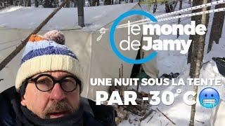 Une nuit par -30°C sous la tente - Le meilleur du monde de Jamy