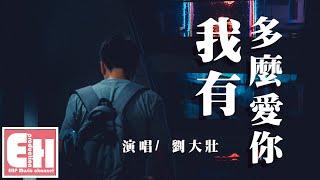 劉大壯 - 我有多麼愛你『在每一個夜裡再沒有你的關於,還想逃避思念來襲。』【動態歌詞 Pinyin Lyrics】