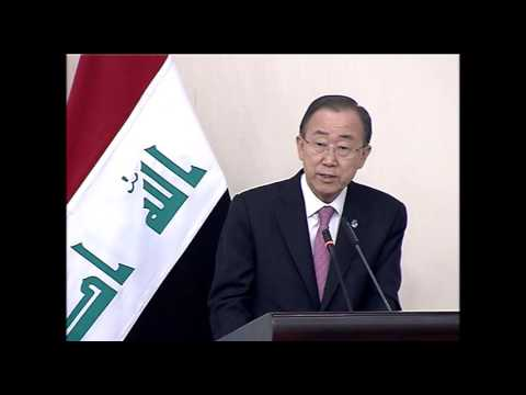 Secretary General of the United Nations and the President of the World Bank / Baghdad, March 26