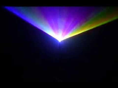 Анимационный лазерный проектор RGB1000A с аналоговой модуляцией