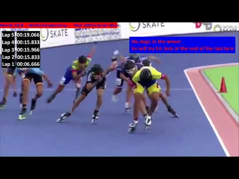 heerde 18 world championship 1000m final Senior men Gwendal Le Pivert the leathal Weapon