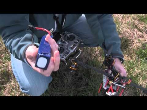 Vibration testing DYS BE2217 1300Kv motors