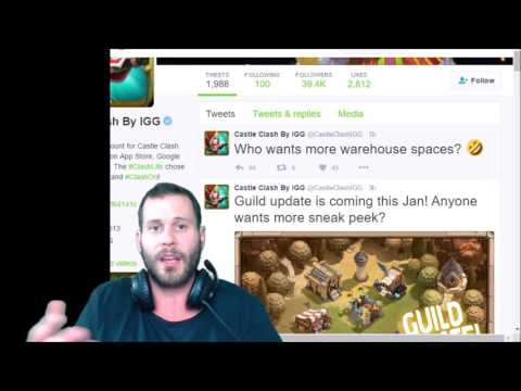New Update JT's Idea On Crest Building + Warehouse SPACE FINALLY! Castle Clash