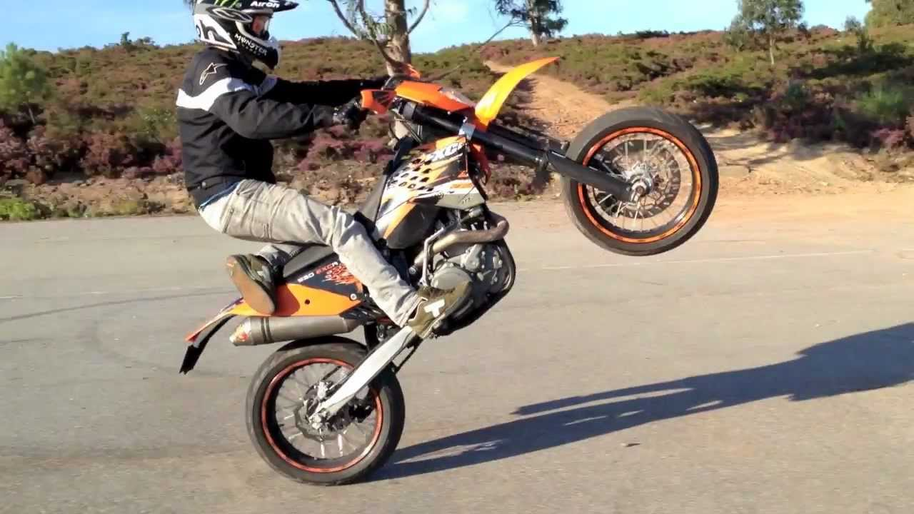 KTM 530 EXC-R Sunny Saturday Ride - YouTube