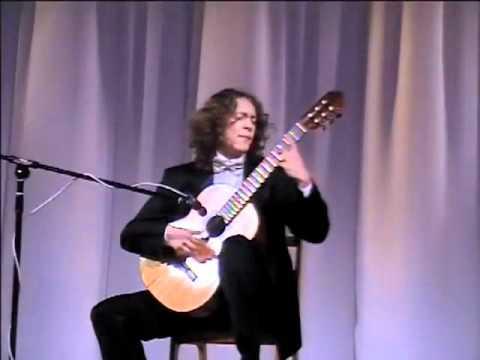 """Dimitri Illarionov: """"Grand Overture"""" by Mauro Giuliani Solo Guitar"""