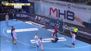 Montpellier VS Saint Raphaël Handball Coupe de France 2016 Quart de finale