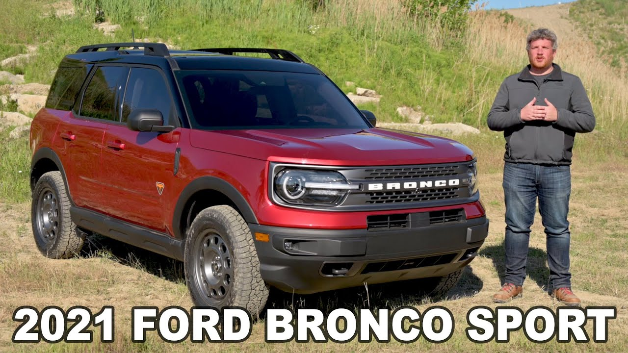 2021 Ford Bronco Sport Complete Look Up Close Details Youtube