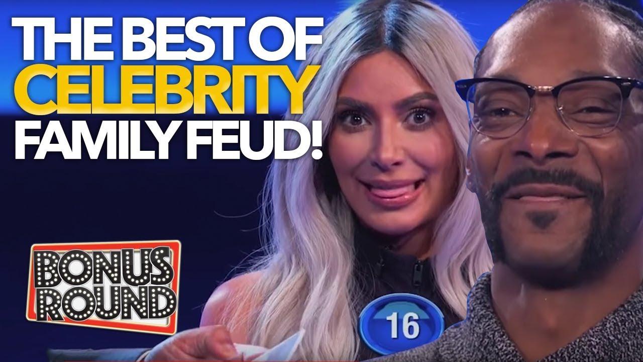 BEST Celebrity Family Feud Moments Snoop Dogg, Kim Kardashian, Amy Schumer & More | Bonus Round