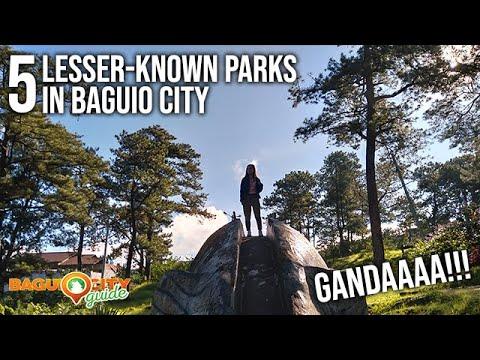 5 LESSER KNOWN PARKS IN BAGUIO CITY | Baguio City Guide | Baguio Vlog