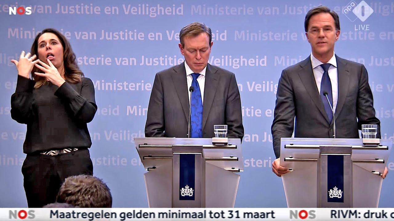 Breaking: Premier Mark Rutte Live Persconferentie Na