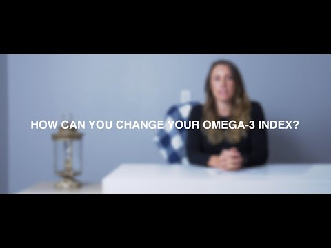 How Can You Change Your Omega 3 Index?