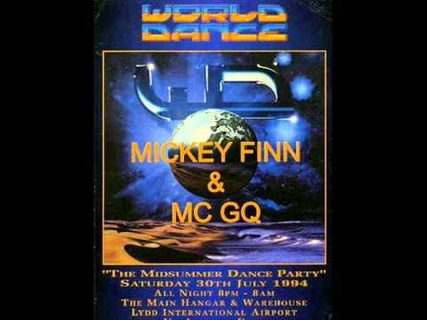 Mickey Finn & Mc GQ @ World Dance @ Lydd Airport 30th July 1994