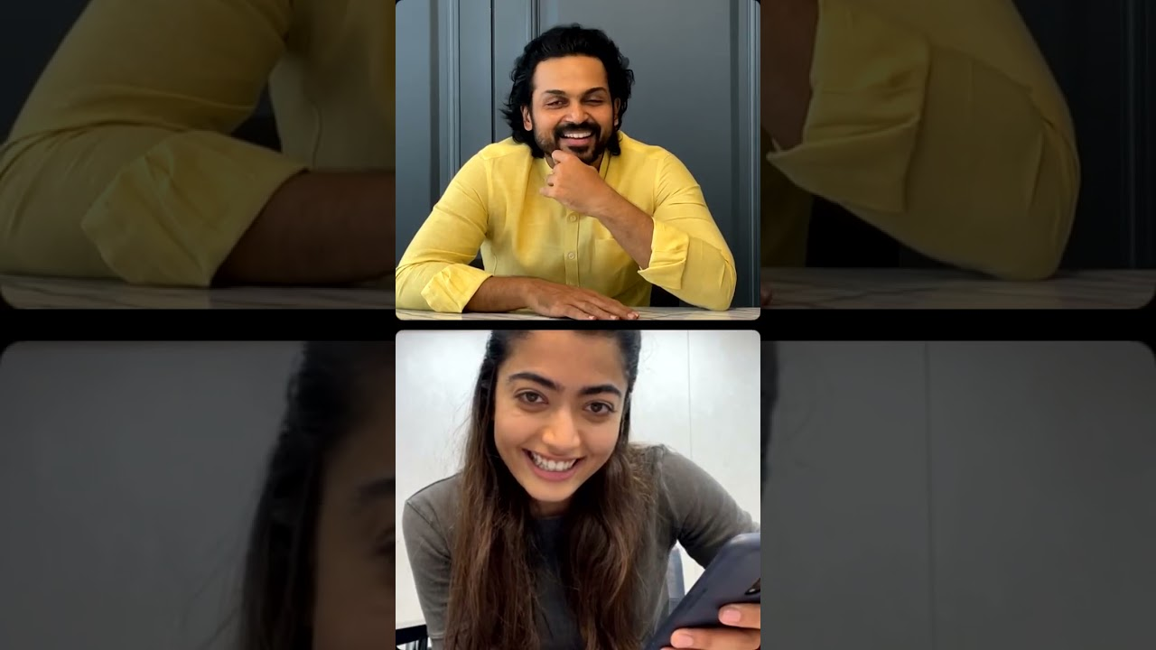 Sulthan movie actor karthi Rashmika mandanna live