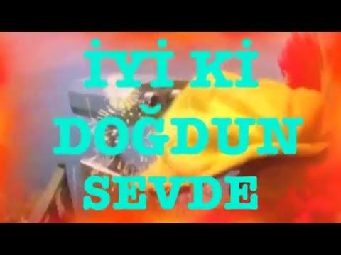 İyi ki Doğdun SEVDE :) 2.VERSİYON Komik Doğum günü Mesajı ,DOĞUMGÜNÜ VİDEOSU Made in Turkey :) 🎂
