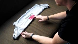 How to roll a t-shirt like an indie-rock band