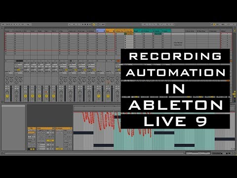 Recording Automation in Ableton Live 9 || Never Defined By Studios