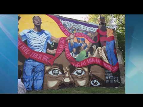 Yendor Arts Beautifies Newark With Building Murals
