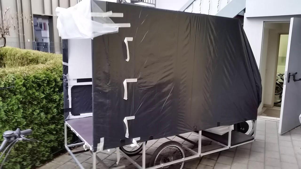 volker 39 s fahrrad weltreise der fahrradwohnwagen bike camper 14 youtube. Black Bedroom Furniture Sets. Home Design Ideas