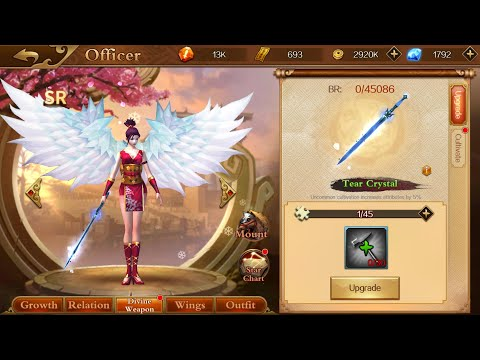 Dynasty Legends - DIVINE WEAPON UNLOCKING & UPGRADING