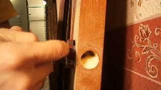 Врезка простой китайской ручки ( установка дверей )(Так работаем мы gurov-profi@yandex.ru., 2013-12-22T14:49:03.000Z)