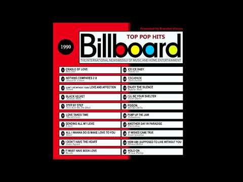 Billboard Top Pop Hits - 1990