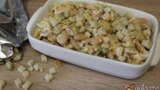 Салат с курицей и фасолью 'Сытный'