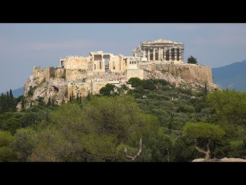 Ancient Sites in Athens, Greece in 4K Ultra HD