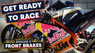 How To Change Your Front Brakes Like A MotoGP Mechanic | Get Ready To Race #2