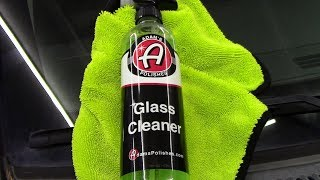 The Best Automotive Glass Cleaner? Adam