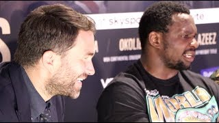 'I AM GLAD EDDIE HEARN SAYS THINGS LIKE THAT - IT MAKES ME THINK F*** THIS GUY!' - DILLIAN WHYTE