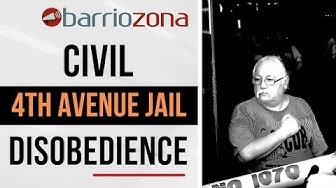 SB 1070 - Protesters in Arizona Block Maricopa County Madison Jail