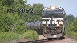 NS 8052 East, with a Shave and a Haircut on 8-18-2013