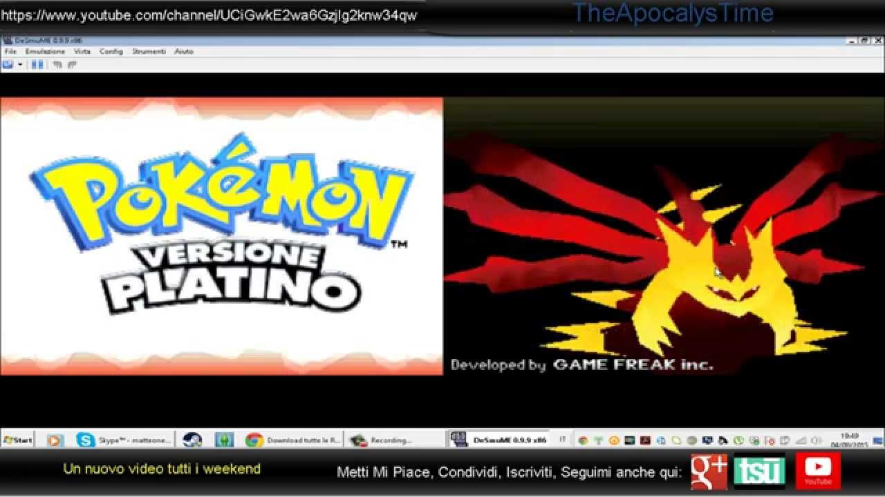 pokemon platino per pc gratis ita