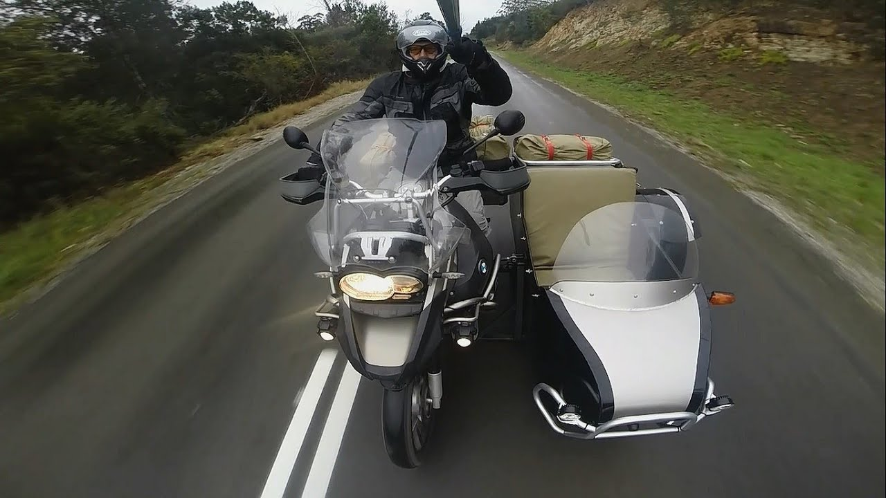 BMW 1200 GSA sidecar, the solo rides - South Africa