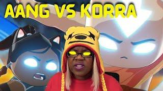 Aang vs Korra FIGHT Avatar   The Last CATbender Fan Animation   dillongoo   AyChristene Reacts